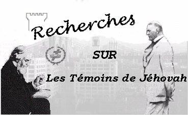 Recherches sur les Témoins de Jéhovah